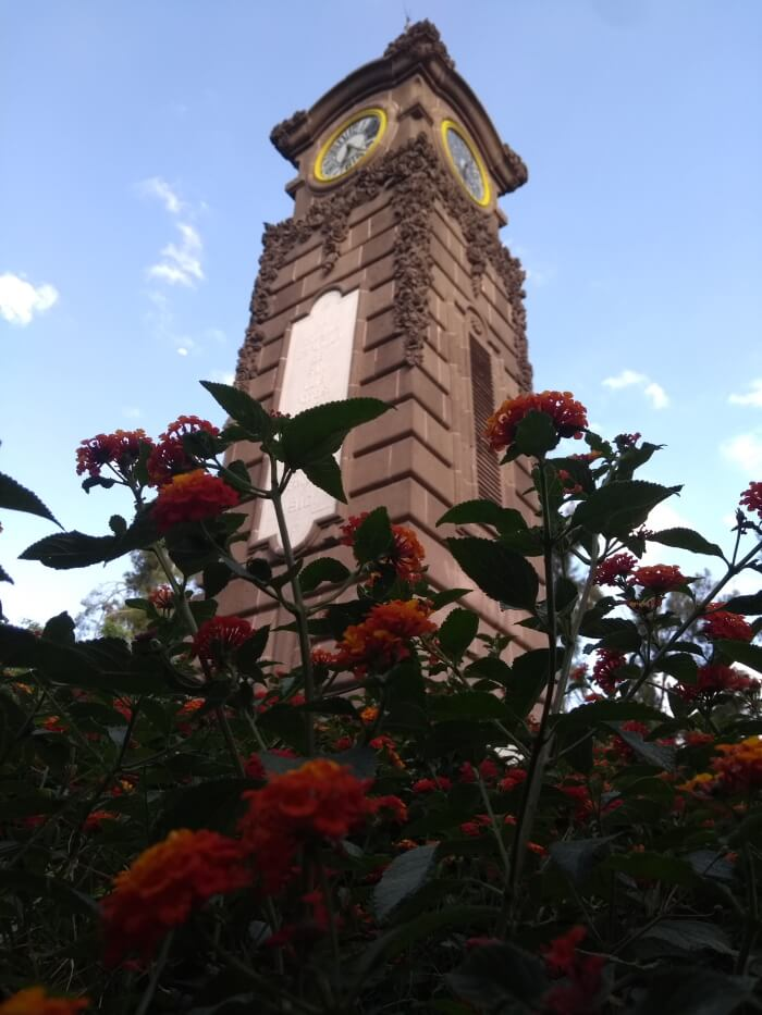 Clock tower San Luis